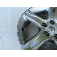 01 Lexus IS300 #1125 Wheel, 17x7 Silver OEM 42611-53450 (5)