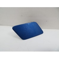 16 BMW M235i F22 #1126 Trim, Headlight Washer Cover, Blue 51118055314