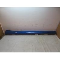 16 BMW M235i F22 #1126 Side Skirt, Rocker Panel, Right Estoril Blue 51778051948