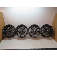 "16 BMW M235i F22 #1126 Wheel Set, 18"" Double Spoke M, Style 436 OEM"