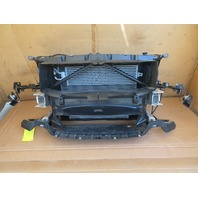 16 BMW M235i F22 #1126 Radiator Support Assembly W/ Fan & Intercooler