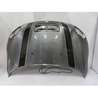 08 Mini Cooper S R56 #1127 Hood Shell, Dark Silver