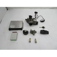 98 BMW Z3 M Roadster E36 #1130 Lock Set, S52 DME ECU Immobilizer Ignition