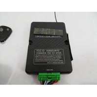 98 BMW Z3 M Roadster E36 #1130 Factory Alarm Set, Module, Remote, LED & Sensor 1470403