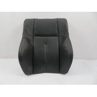 04 BMW 645ci 650i E63 #1131 Seat Cushion, Backrest, Right, Black Leather