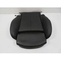 04 BMW 645ci 650i E63 #1131 Seat Cushion, Bottom, Right, Black Leather
