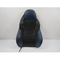 00 BMW Z3 M Roadster E36 #1132 Seat Cushion, Sport Heated Backrest, Right Black/Blue