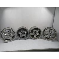00 BMW Z3 M Roadster E36 #1132 Wheel Set, Roadstar Style 40 Staggered OEM