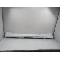 15 Lexus RC 350 F-Sport #1134 Trim, Rocker Panel Side Skirt, White Right 75850-24080