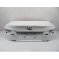 15 Lexus RC 350 F-Sport #1134 Trunk Lid, Rear White 64401-24250