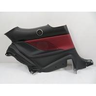 15 Lexus RC 350 F-Sport #1134 Trim, Quarter Panel, Rear Left Black/Red 62520-24160
