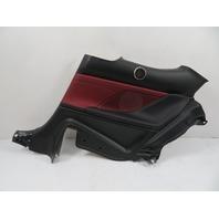 15 Lexus RC 350 F-Sport #1134 Trim, Quarter Panel, Rear Right Black/Red 62510-24160