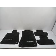 15 Lexus RC 350 F-Sport #1134 Carpet set, floor mats, Coupe Front & Rear, Black PT208-24150