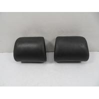 94 BMW E31 840ci E31 #1136 Headrest, Front Pair Black