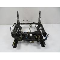 94 BMW E31 840ci E31 #1136 Seat, Track Rail Assembly W/ Motors Left
