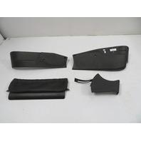 94 BMW E31 840ci E31 #1136 Trim Set, Seat Switch Cover, Right Black
