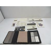 94 BMW E31 840ci E31 #1136 Owners Manual, Service, Anti-Theft, w/ Cassette & Case