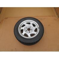 94 BMW E31 840ci E31 #1136 Wheel, Turbine Rim & Tire Spare, 71/2JX16 H2 1180198