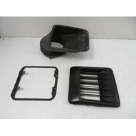86 Toyota MR2 AW11 MK1 #1137 Grill Assembly, Engine Side Air Duct Louver