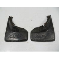 86 Toyota MR2 AW11 MK1 #1137 Splash Guard Pair, Mud Flap, Rear