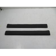 04 BMW Z4 E85 E86 #1140 Trim, Door Sill Carpet Holder Pair Black