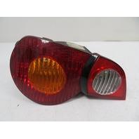 04 BMW Z4 E85 E86 #1140 Taillight, OEM Right Side Black / Amber
