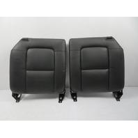 00 Audi TT MK1 #1141 Seat Pair, Backrest Cushion Black Leather