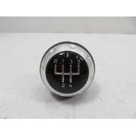 00 Audi TT MK1 #1141 Shift Knob, Manual 5SPD, Black Leather OEM