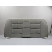 98 BMW M3 E36 #1148 Seat, Backrest Rear Grey Leather