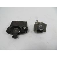 10 Mini Cooper Clubman S R55 #1149 Lock Set, Ignition & Door w/ Key Fob 3449103