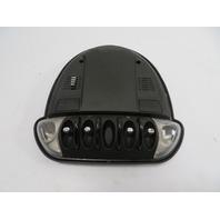 10 Mini Cooper Clubman S R55 #1149 Light Lamp, Interior Dome W/ Switch Panel, Black 3422625