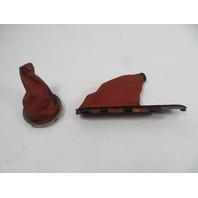 10 Mini Cooper Clubman S R55 #1149 Trim Pair, Manual Shifter E-Brake Boot & Cover, JCW