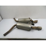 10 Mini Cooper Clubman S R55 #1149 Exhaust Pair, Muffler, Left & Right JCW Works