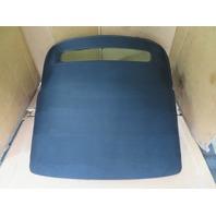 06 Audi TT MK1 Convertible #1150 Soft Top, w/ Glass, Roof & Frame Black