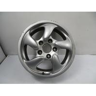 00 Porsche Boxster S 986 #1156 Wheel, Carrera 17x7 OEM Front 911 #1