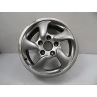 00 Porsche Boxster S 986 #1156 Wheel, Carrera 17x7 OEM Front 911 #2