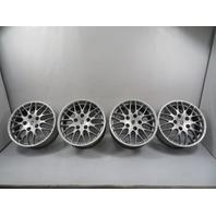01 Porsche Boxster 986 #1157 Wheel Set, Carrera 17x7 17x8.5 BBS OEM Staggered 911 993