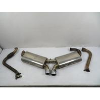 01 Porsche Boxster 986 #1157 Fabspeed Exhaust Muffler, 2.7L M96.22 Motor