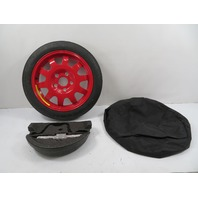 01 Porsche Boxster 986 #1157 Spare Wheel, w/ Jack & Cover