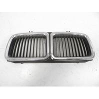 93 BMW 750il E32 #1158 Trim, Hood Bumper Front Kidney Grill 1964863