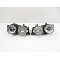 93 BMW 750il E32 #1158 Headlight Set, HELLA HID Xenon OEM *RARE*