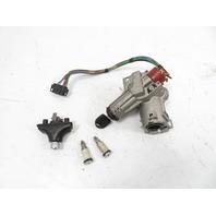 93 BMW 750il E32 #1158 Lock Set, Ignition Door Locks Trunk 1161551