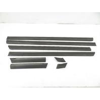 93 BMW 750il E32 #1158 Trim Set, Body Protection Mouldings