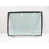 93 BMW 750il E32 #1158 Glass, Door Window W/Insulation Dual Pane, Rear Right