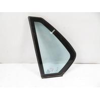 93 BMW 750il E32 #1158 Glass, Quarter Window W/Insulation Dual Pane, Rear Left