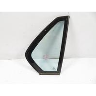 93 BMW 750il E32 #1158 Glass, Quarter Window W/Insulation Dual Pane, Rear Right
