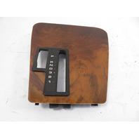 93 BMW 750il E32 #1158 Trim, Shifter Wood Bezel 51168136470