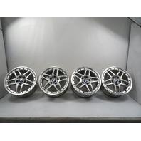 03 BMW Z4 E85 E86 #1159 Wheel Set, 5 Double Spoke 2-Piece Split Style 71