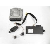 10 BMW Z4 E89 #1160 Lock Set, Ignition, Engine Computer ECU, CAS 3 35i N54