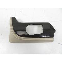 10 BMW Z4 E89 #1160 Trim, Dashboard Left, Ivory Fine Line Wood 9167639